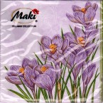 Luncheon Napkin Crocus